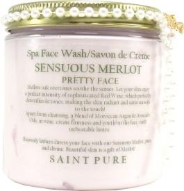 Saint Pure Sensuous Merlot Wine Face Soap