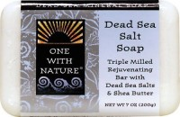 One With Nature Dead Sea Mineral Dead Sea Salt Soap (200 G)