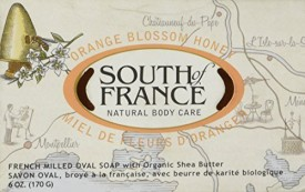 South Of France South of France Natural Bar Everyday Detox Soap Orange Blossom Honey
