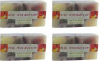 Spaanand Hand Crafted Rose And Rosemary Chip Soap (400 G)