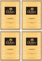 Aster Luxury Coffee Bathing Bar 125g - Pack Of 4 (500 G)