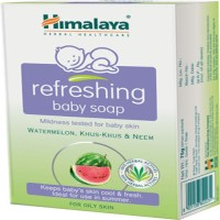 Himalaya Baby Refrshing Soap-75g (Pack Of -2) (75 G)