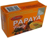 Renew Papaya Fruity Soap For Skin Whitening 3Pc (405 G)