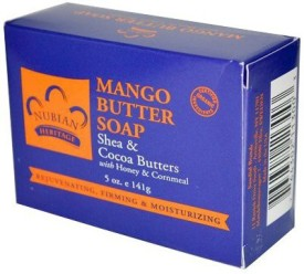 Nubian Heritage Mango Body Butter Soap With Honey & Cornmeal by
