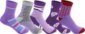 Supersox Women's Self Design Ankle Length Socks