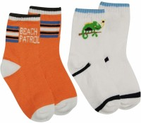 Ollington St. Collection Baby Boy's Printed Quarter Length Socks - Pack Of 2