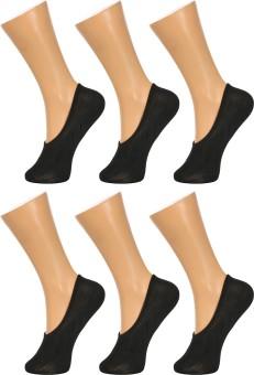 Gumber Women's, Men's Solid No Show Socks