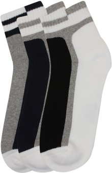 Lotto Men's Striped Low Cut Socks Pack Of 3