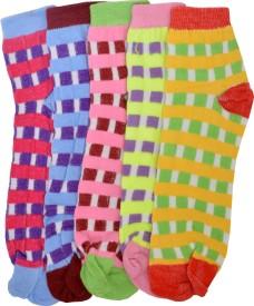 Welwear Women's Checkered Footie Socks