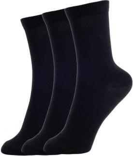 Bailey Italia Boy's Solid Crew Length Socks