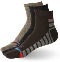Stellen Men's Striped Ankle Length Socks - Pack Of 3 - SOCE2NM53HAMMBKN