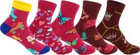 Supersox Women's Self Design Ankle Length Socks - SOCEEDY3MRV7BCYW