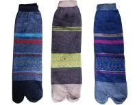 Jainam Women's Self Design Ankle Length Socks - Pack Of 3 - SOCE2SPA6YVGDD8D