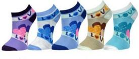 Gumber Women's Graphic Print Ankle Length Socks
