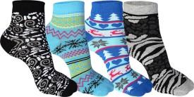Supersox Women's Self Design Ankle Length Socks - SOCEEDY3KM4Z2ESB
