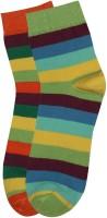 Renzer Men's Striped Crew Length Socks - Pack Of 2