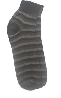 YellowMellow Men's Striped Ankle Length Socks - SOCE35CEZ4HSVFG3