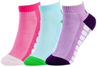 NBA Women's Self Design Ankle Length Socks - Pack Of 3 - SOCDYWZ3QPHVWFUM