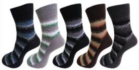 Avm Hw Velvet Men's Self Design Ankle Length Socks