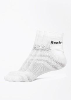 REEBOK Men's Self Design Ankle Length Socks (Pack Of 3)