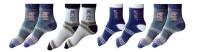 Garg Sport Men's Striped Ankle Length Socks - Pack Of 4
