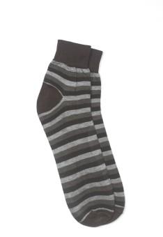 YellowMellow Men's Striped Ankle Length Socks - SOCE35CEYY3FTHPD