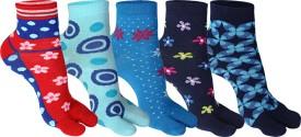 Supersox Women's Self Design Ankle Length Socks - SOCEEDY3PVHVHHWT
