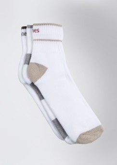 Hanes Men's Solid Ankle Length Socks: Sock