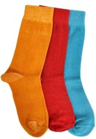 A&G Baby Boy's Solid Crew Length Socks