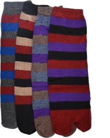 Welwear Women's Striped Footie Socks