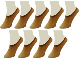 Neska Moda Women's Solid No Show Socks