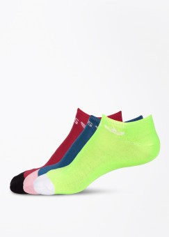 Adidas Originals Men's Printed Ankle Length Socks Pack Of 3