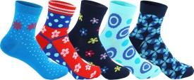 Supersox Women's Self Design Ankle Length Socks - SOCEEDY3XUP53UQJ