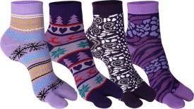 Supersox Women's Self Design Ankle Length Socks - SOCEEDY36HZFVV7H