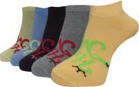 A&G Women's Self Design Ankle Length Socks - Pack Of 5 - SOCE2H6UZKMUZWED