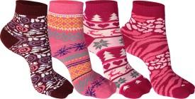 Supersox Women's Self Design Ankle Length Socks - SOCEEDY3CJHVTZGG