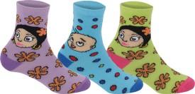 Supersox Baby Boy's, Baby Girl's Self Design Crew Length Socks