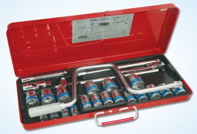 S-16M Square Socket Set (25 Pc)