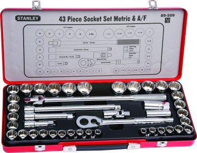 89-509 43 Piece 1/2 Inch Socket Set