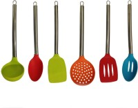 Platex Steel Handle Non-Stick Spatula (Pack Of 6)