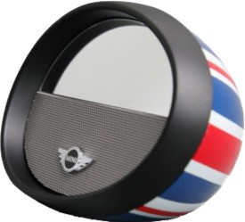Mini Cooper Mirror Boom Box NFC Bluetooth Speaker