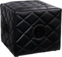 SoundLogic Ottoman Bluetooth Speaker Wireless - Black, Single Unit Channel