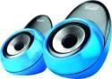 Mitashi ML1600 Wired Desktop Speaker - Blue, 2 Channel