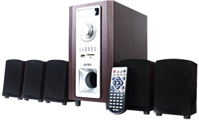 Intex IT 502 WD SUF Wired Laptop Speakers Brown, 5.1 Channel available at Flipkart for Rs.3299