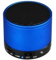 Captcha Clear Sound, Easy Connectivity With Any Mobile/Tablet/Pc/Ipad Via Both Bluetooth And AUX Wireless Home Audio Speaker (Blue, Single Unit Channel)