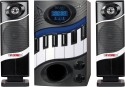 5 Core Multimedia Home Theater HT-2115 Piano With LED Display Wired Home Audio Speaker Wired Home Audio Speaker (Black, 2.1 Channel)