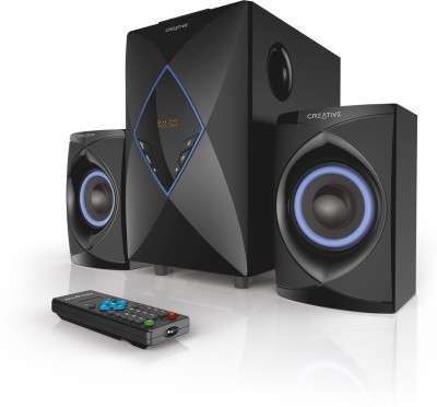 Creative High Performance 2.1 Home Entertainment System Wired Home Audio Speaker