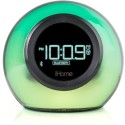 IHome IHome Bluetooth Color Changing Speaker With USB Charging Speakerphone, Dual Alarm Clock FM Radio - IBT29 Wireless Home Audio Speaker (Color Changing, Aux-in Jack To Play Audio From Audio Devices Equipped With 3.5mm Headphone Jack Channel)