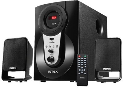 Intex IT 2470 SUF Wired Home Audio Speaker Black, 2.1 Channel available at Flipkart for Rs.2599