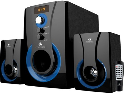 Zebronics 2.1 Multimedia SW2490 RUCF Wired Home Audio Speaker